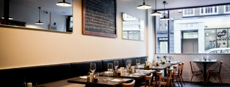 Restaurants in Soho - 100 London Date Ideas