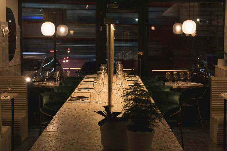 Sapling - romantic restaurants in London
