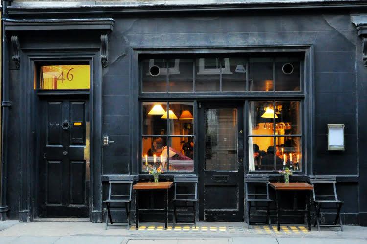 Andrew Edmunds romantic restaurants London