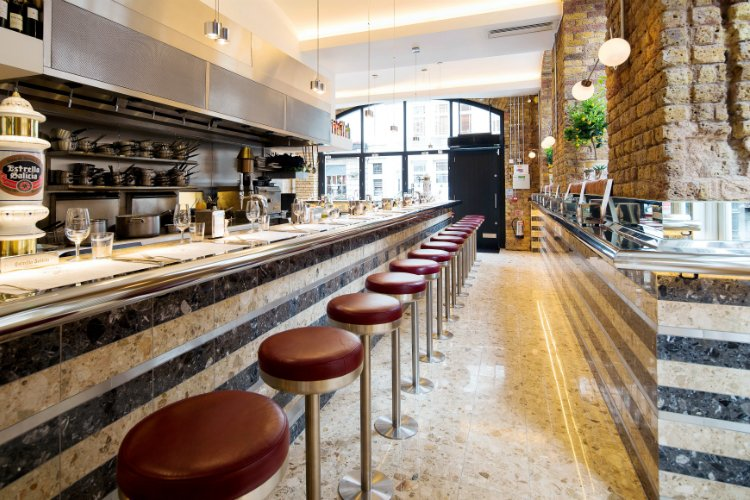 Barrafina - best Holborn restaurants