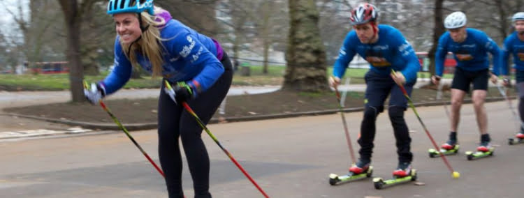 Roller Skiing - 100 London Date Ideas