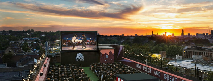 Pop Up Cinemas - 100 London Date Ideas