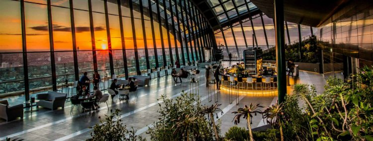Sky Garden - 100 London date ideas