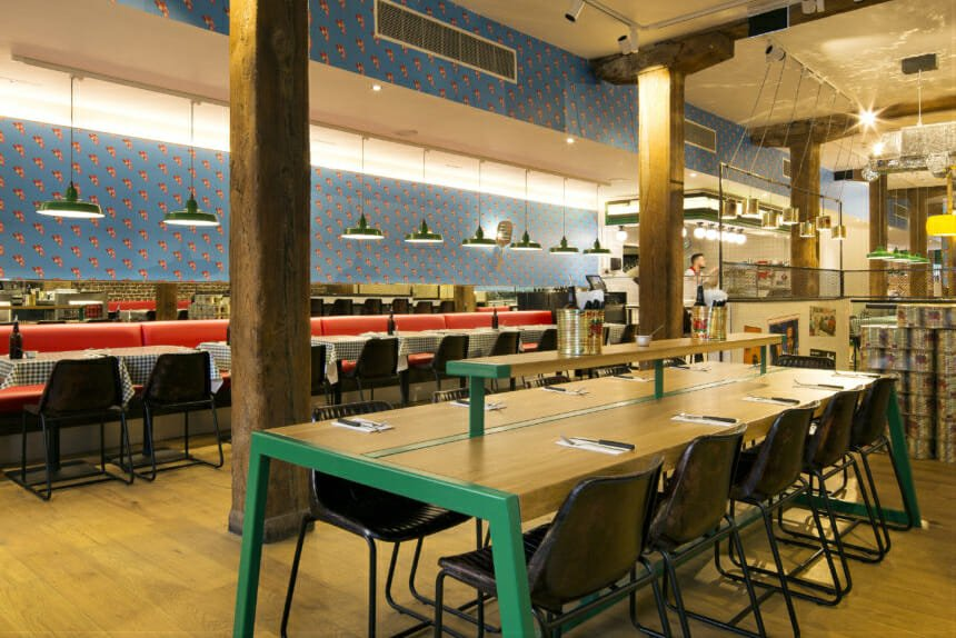 Pizza Pilgrims West India Quay Neapolitan Pizza By Canary