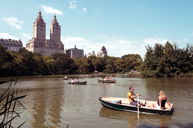 Boating Central Park things to do in New York