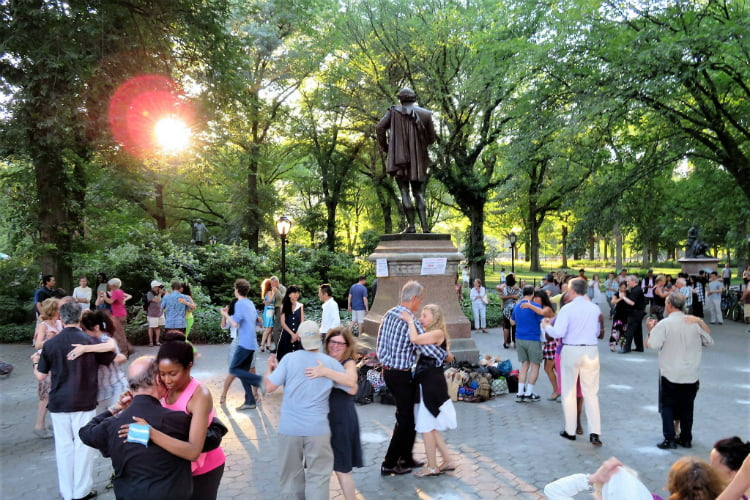 Central Park Tango things to do in New York