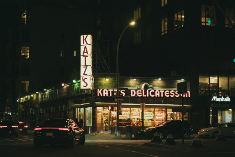 Katz's Deli best restaurants in New York