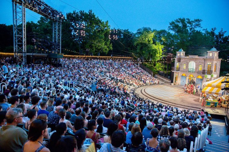 Shakespeare in the Park things to do New York