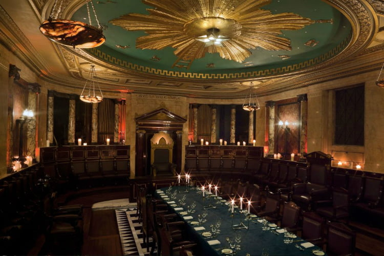 Andaz Masonic Temple - private dining London