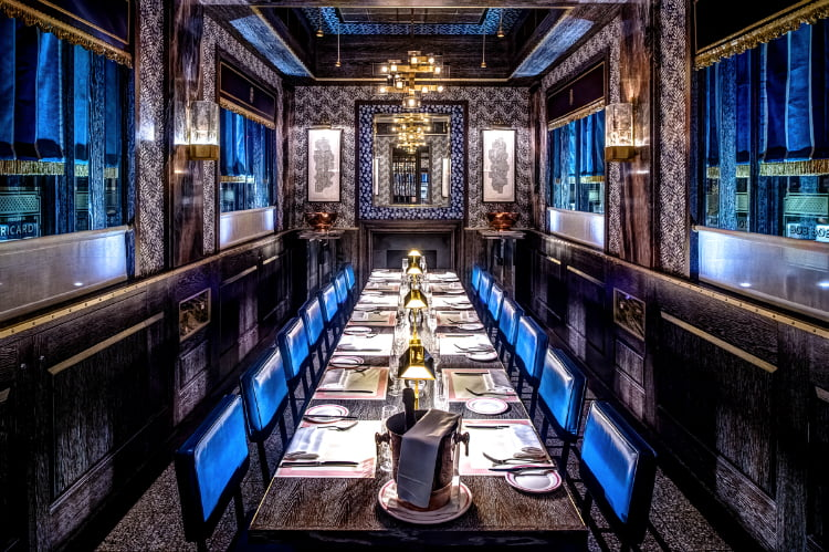 Bob Bob Ricard - private dining london