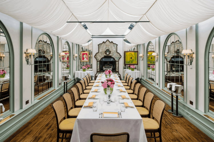 Daphnes - private dining London