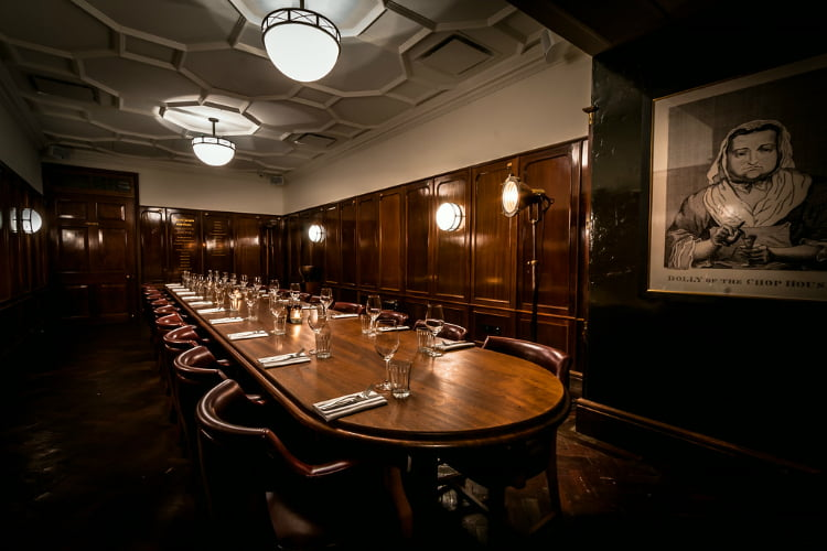 Hawksmoor private dining London