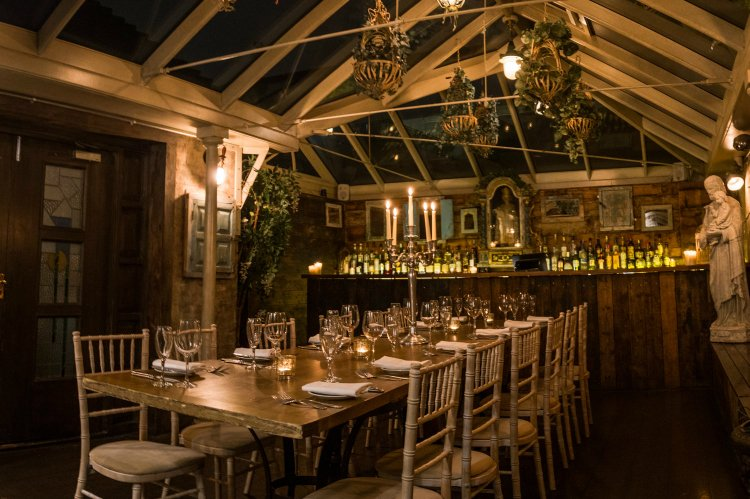 Paradise by way of Kensal Green - private dining London