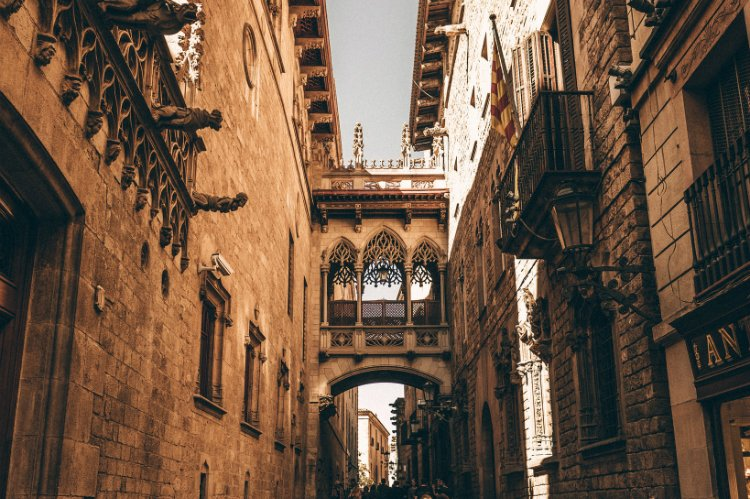 Gothic Quarter - 48 hours in Barcelona
