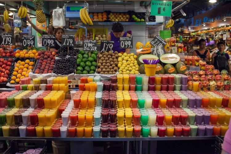 La Boqueria market - 48 hours in Barcelona