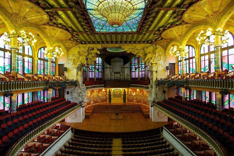 Palau de la Musica Catala - 48 hours in Barcelona