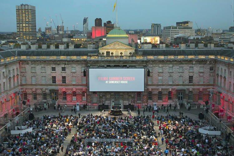 Film 4 cinema Somerset House