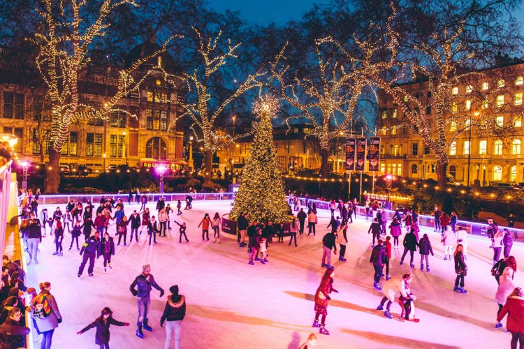 Ice Skating - Natural History Museum things to do in London this month