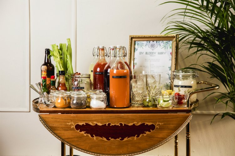The Bloody Mary Bar - Little Bat brunch