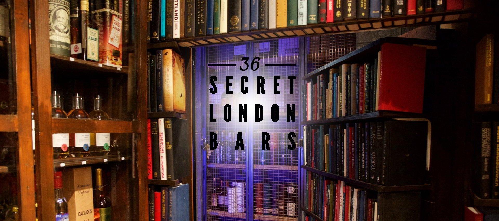 The Ultimate London Hidden Bar Guide | Secret Bars & Speakeasies