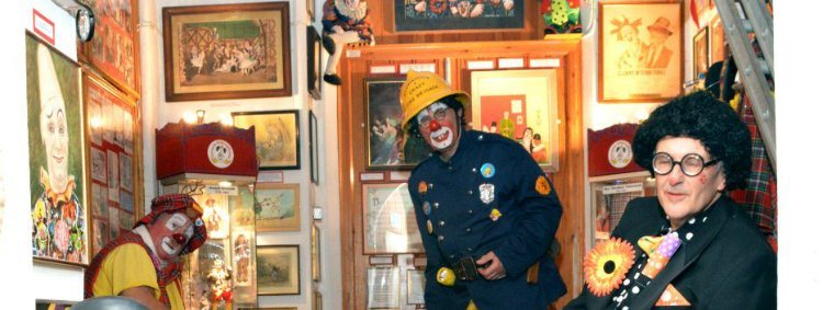 Clown Museum Dalston - unusual museums in London