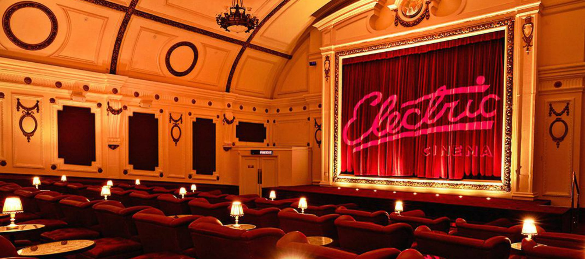 The Electric Cinema Gorgeous Retro Notting Hill Shoreditch Cinemas