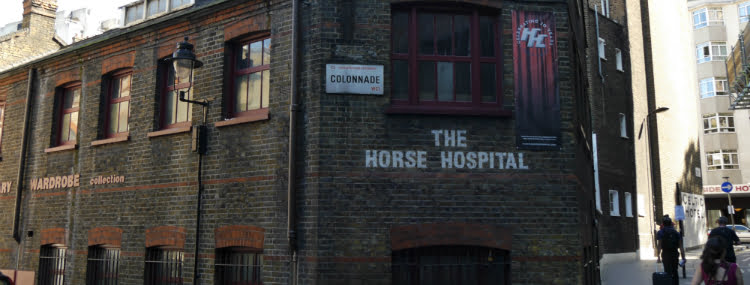 Horse Hospital - most unusual museums in London
