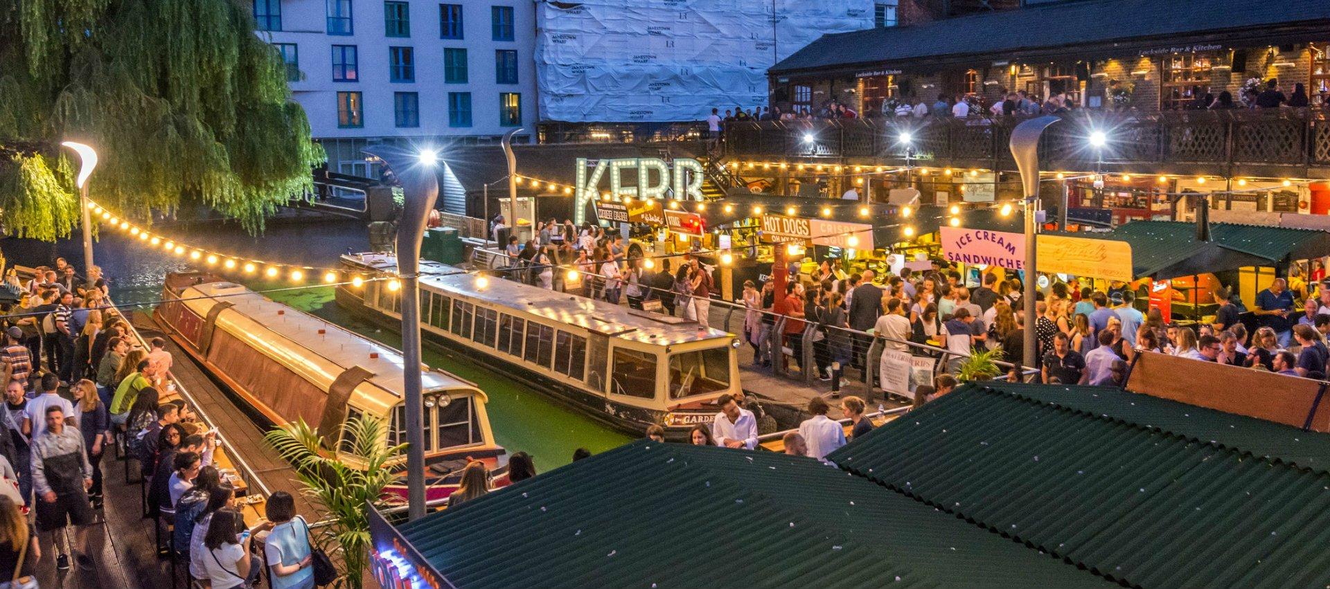 Street Food Market London Wednesday Evening