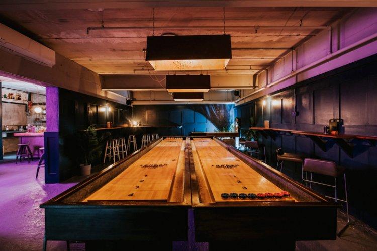 London Shuffle Club shuffleboard