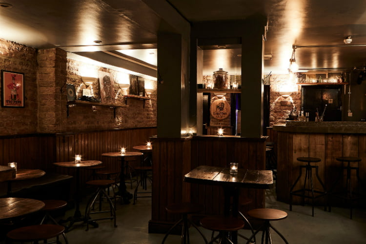 Milroys Vault best soho bars