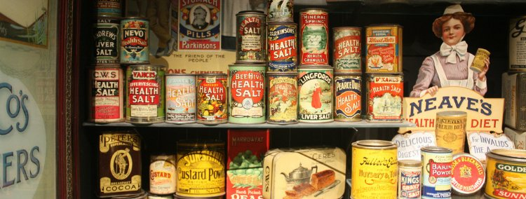 Museum of brands - unusual museums in London