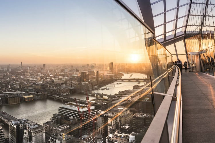 Sky Garden - free things to do in London