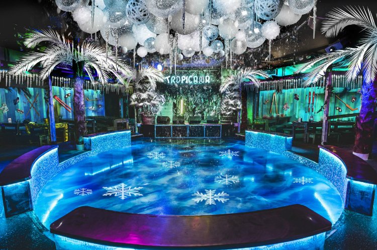 Tropicana Beach Club Big Freeze - Office Christmas Parties London