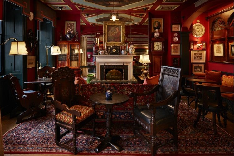 Zetter Townhouse Marylebone Seymour's parlour bar