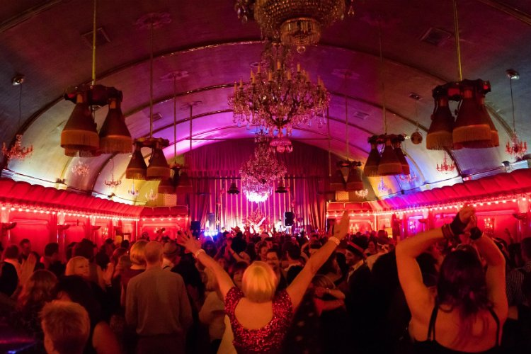 New Year's Eve London Rivoli ballroom
