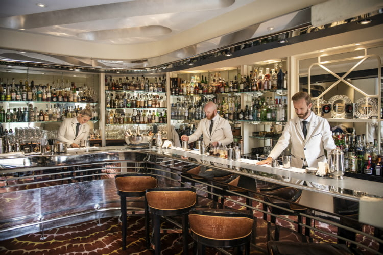 American Bar at the Savoy Covent Garden bars