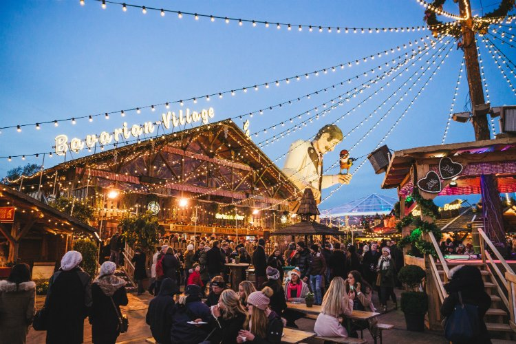 Bavarian Village Winter Wonderland - Christmas Markets 2018