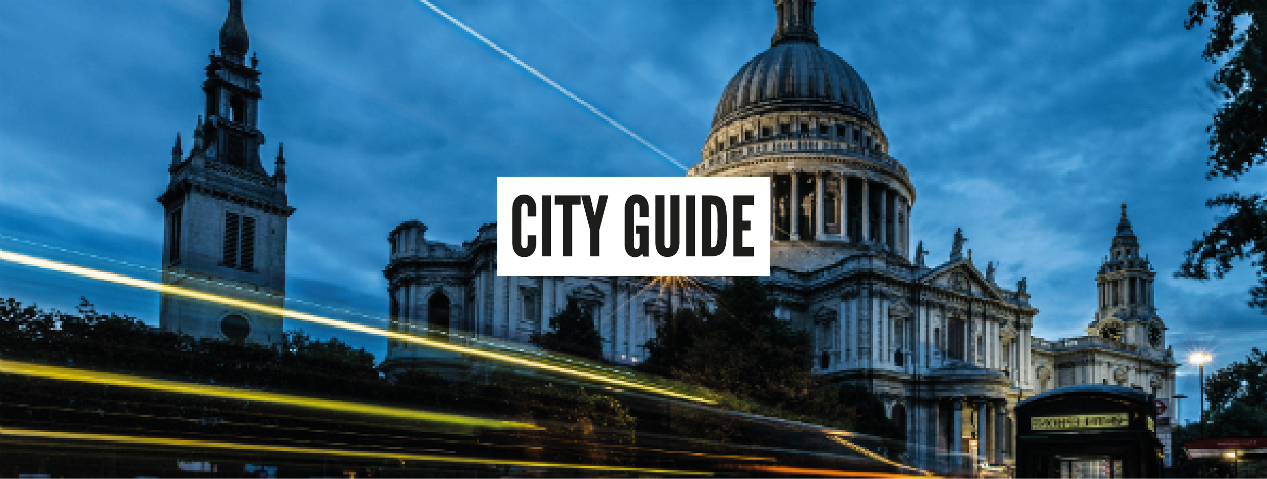 London Neighbourhood Guides - The City
