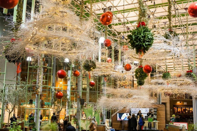 Borough Market - London Christmas Market