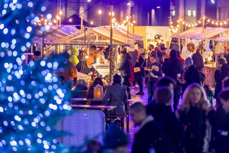 Canopy Market - London christmas market