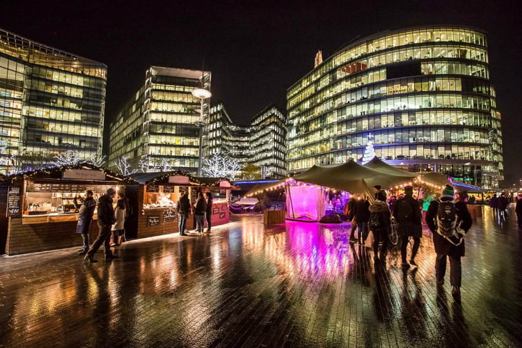 Christmas by the River - London Christmas Market