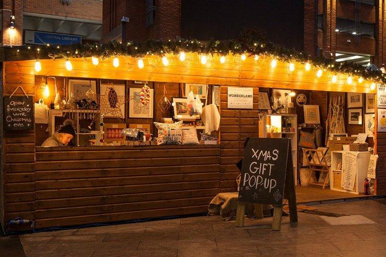 Ealing Broadway - Christmas Market London
