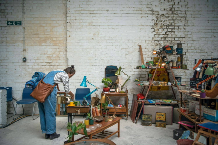 Peckham - Hackney Fleamas Market - London Christmas Market