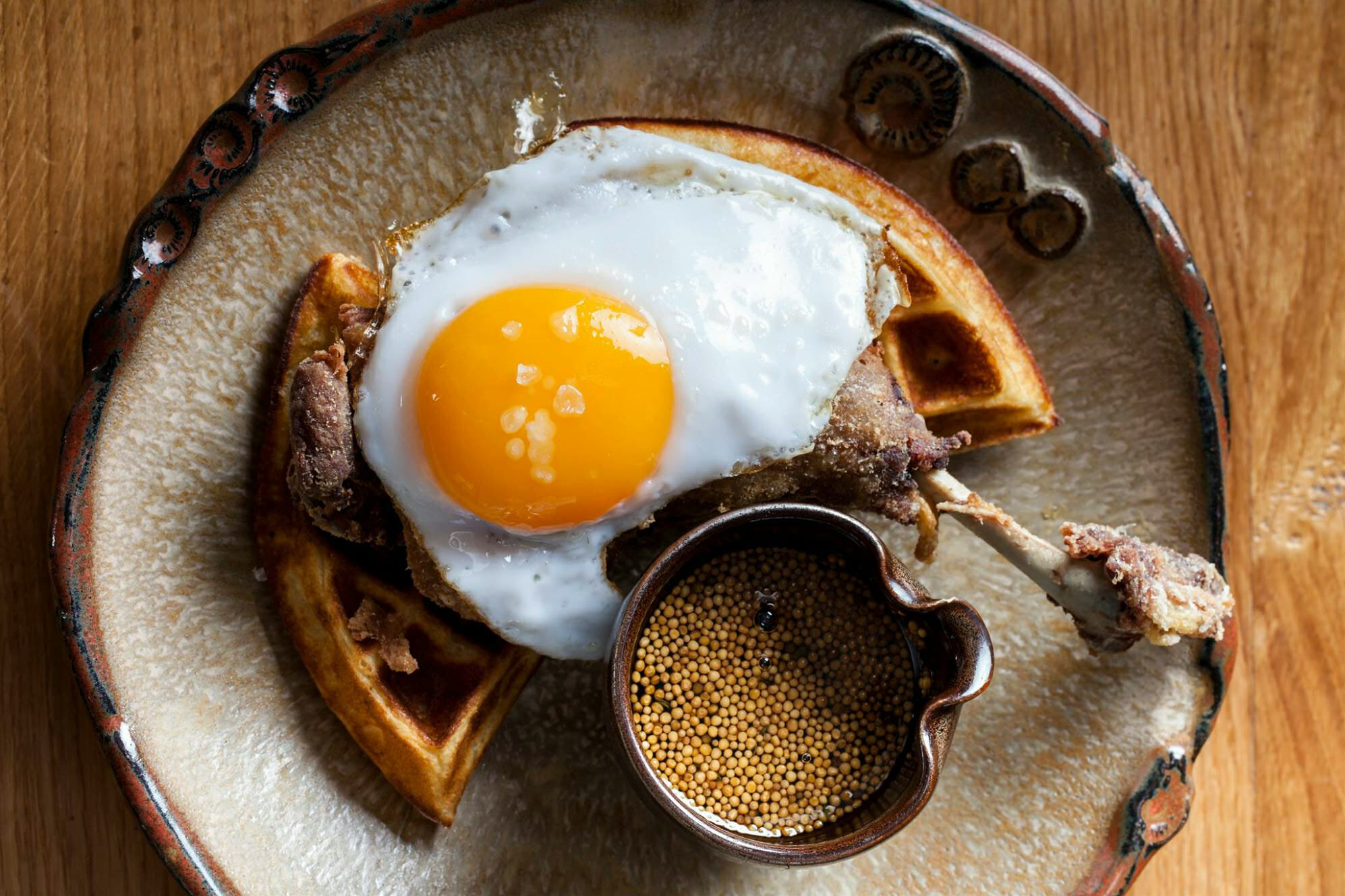 Duck & Waffle london brunch