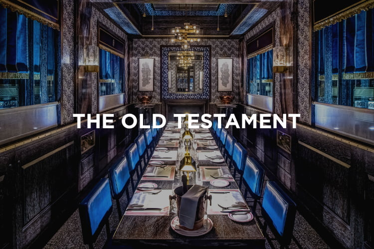 The Old Testament - places to eat in London