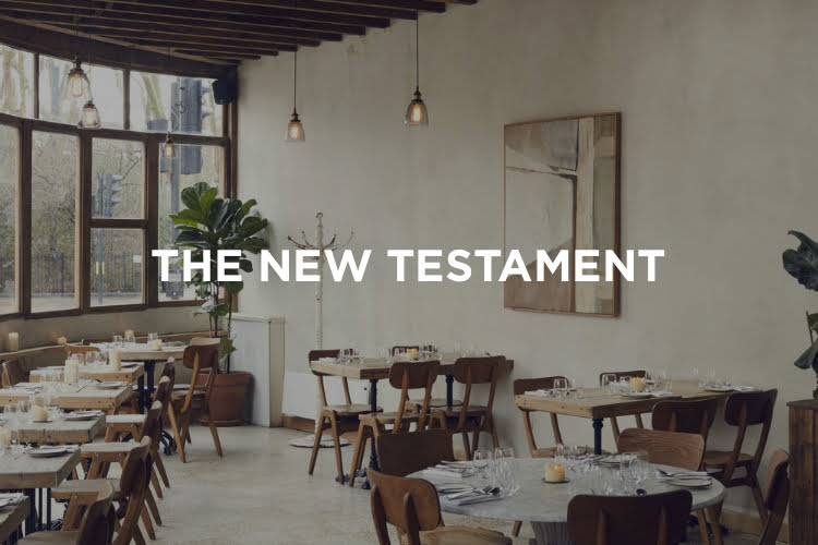 New Testament Places To Eat in London