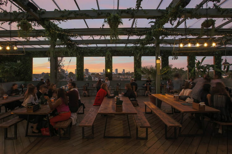 London S Best Winter Rooftops Open Fire Pits And Hot Cocktails