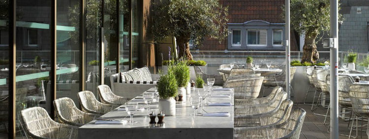 Angler Terrace - rooftop bars in London