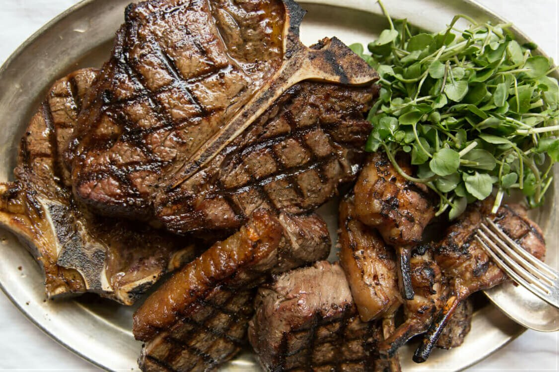 Guinea Grill steak London