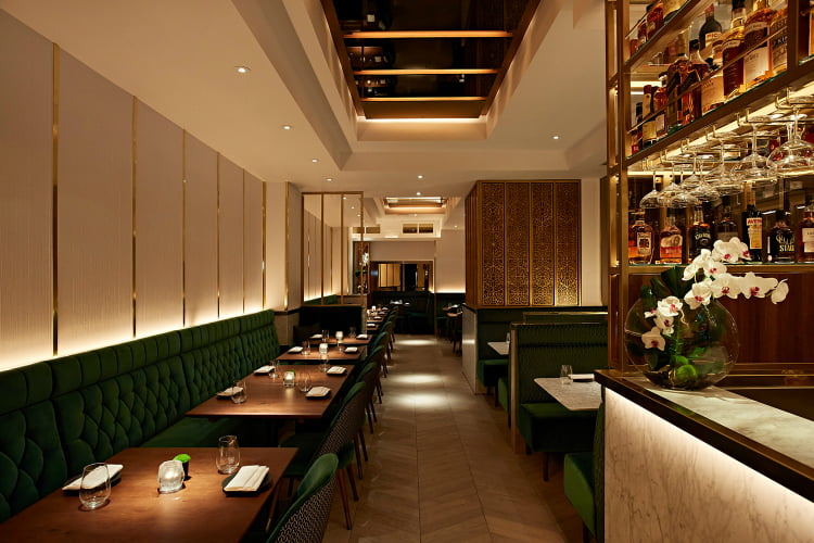 Indian Accent Mayfair restaurants